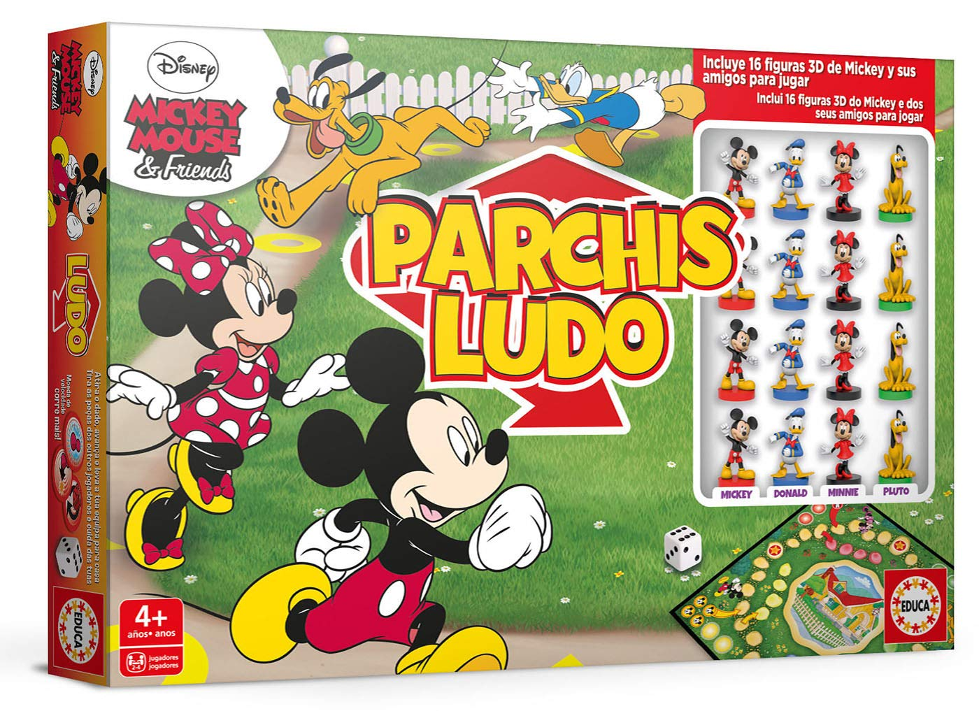 PARCHIS MICKEY 18343