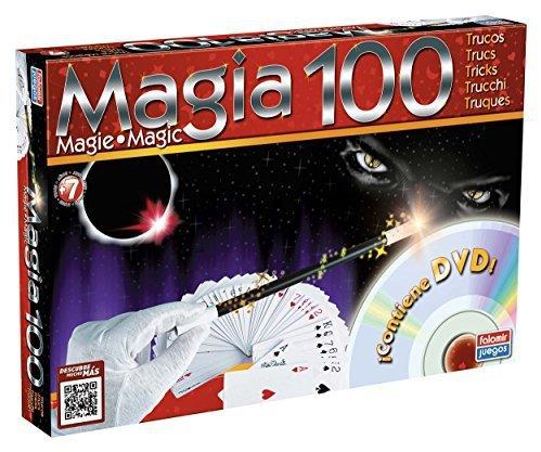 CAJA MAGIA 100 TRUCOS C/DVD 1060 - V39519