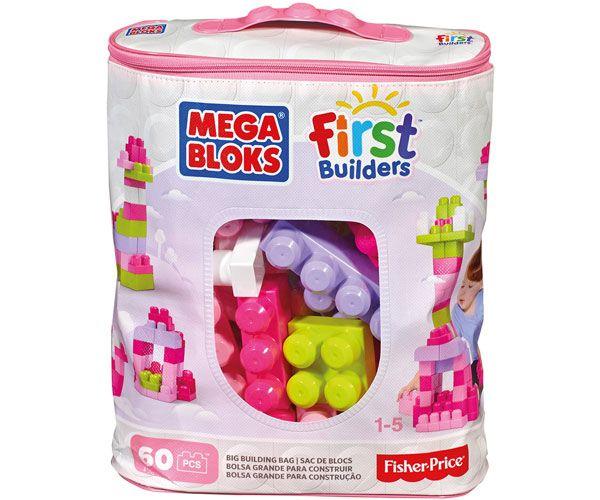 BOLSA MEGA BLOKS 60 ROSA DCH54 - N75419