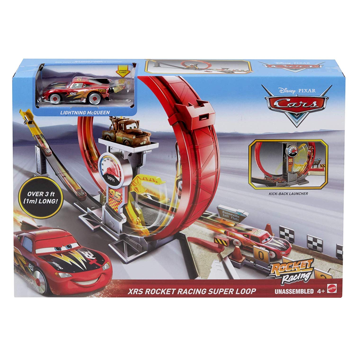 MEGALOOPING ROCKET RACING CARS GJW44