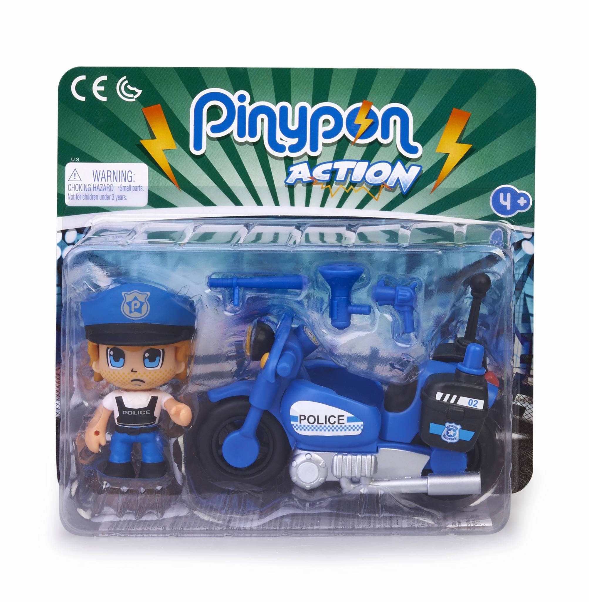 PINYPON ACTION MOTO DE POLICIA 15694
