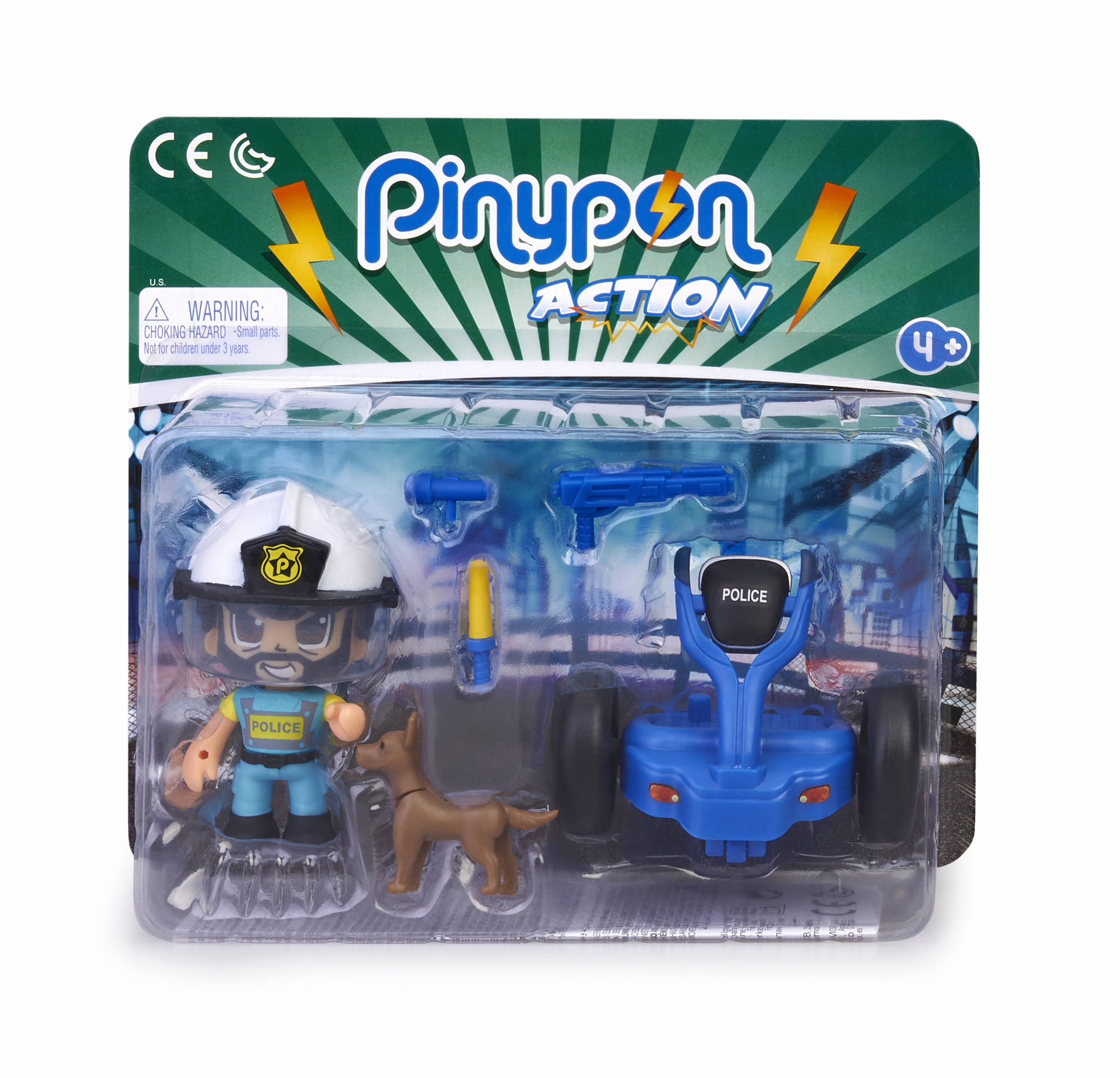 PINYPON ACTION SEGWAY CON POLICIA 15693