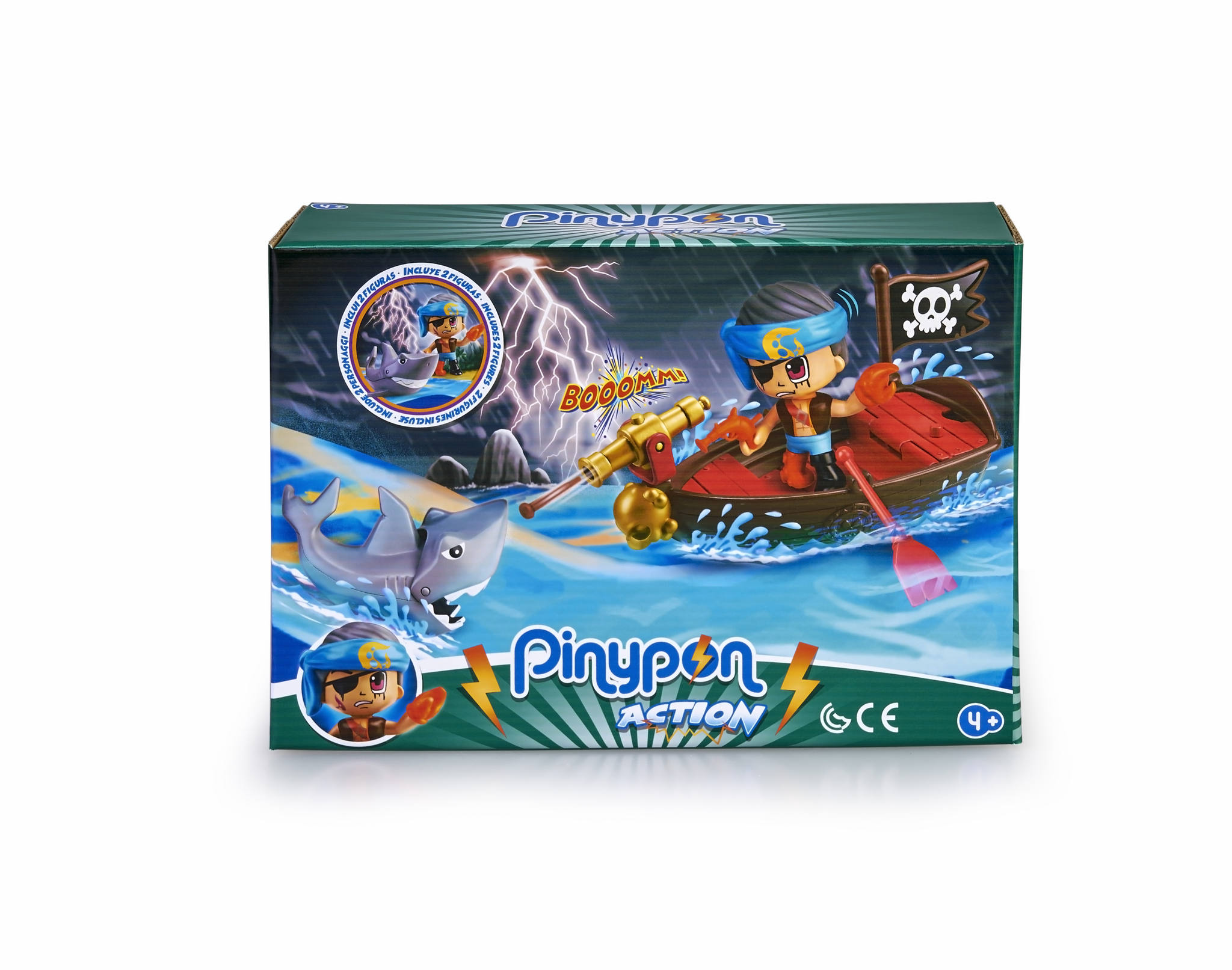 PINYPON ACTION SCENE PIRATAS 15587 V26220