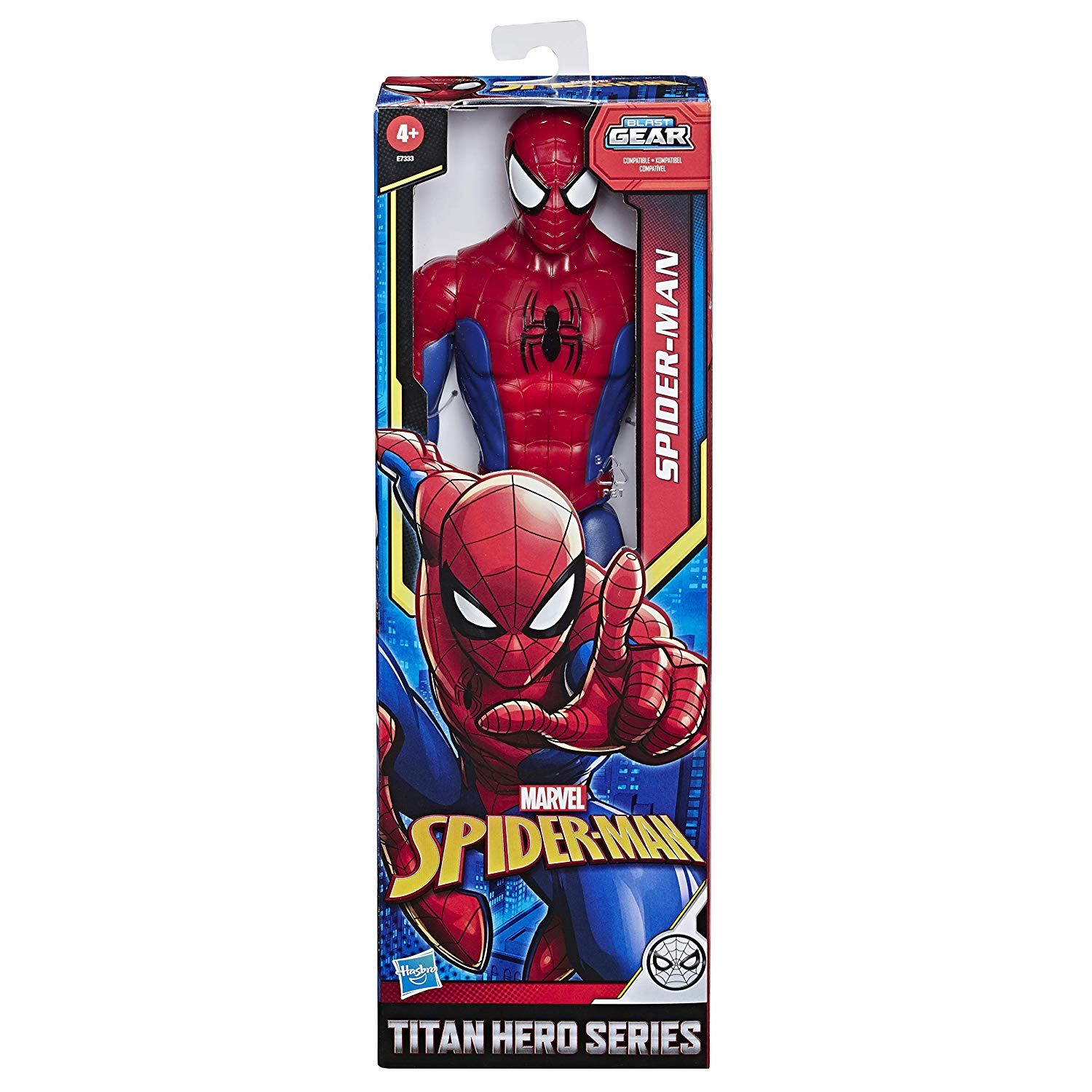 SPIDERMAN FIGURA TITAN E73335
