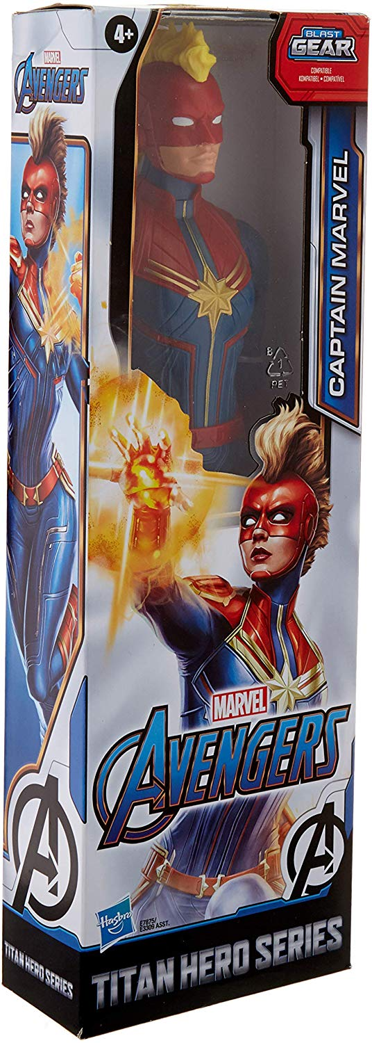 TITAN HERO SERIES CAPITAN MARVEL E7875