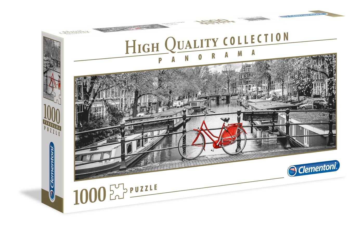 PUZZLE 1000 PANO AMSTERDAM BICI 39440