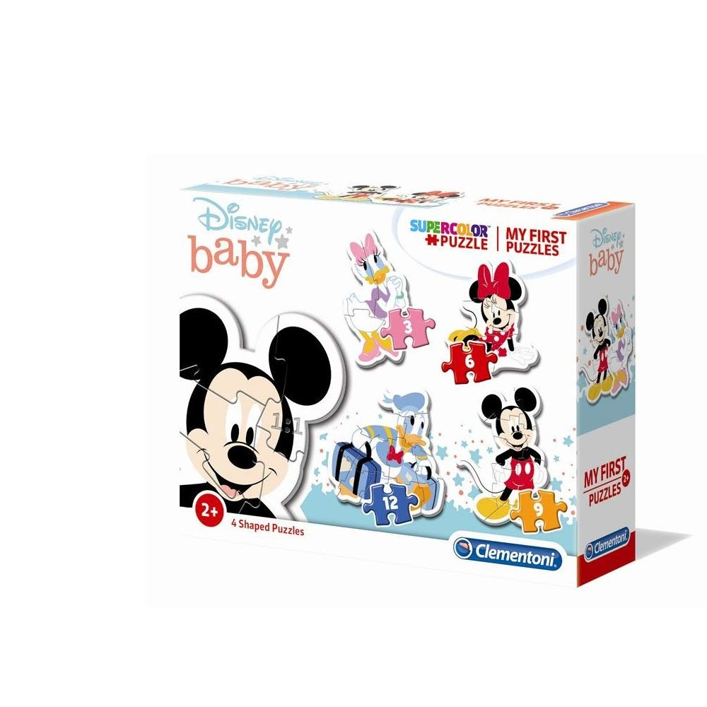 PUZZLE FIRST 3 6 9 MICKEY 20819