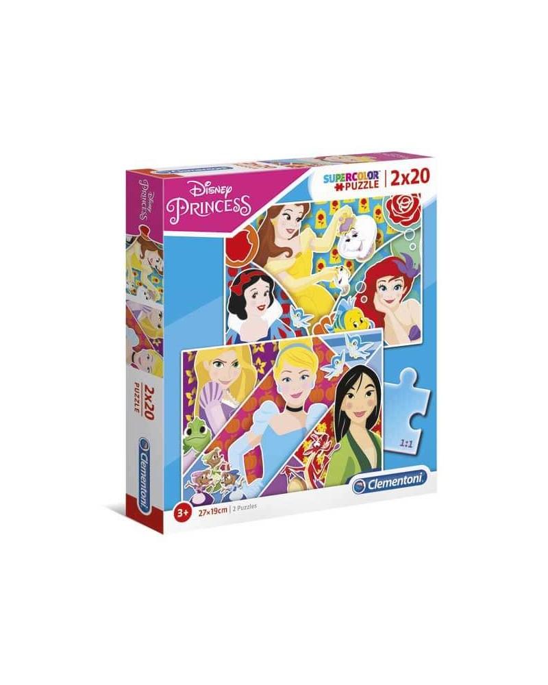 PUZZLE 2X20 PRINCESS 24766