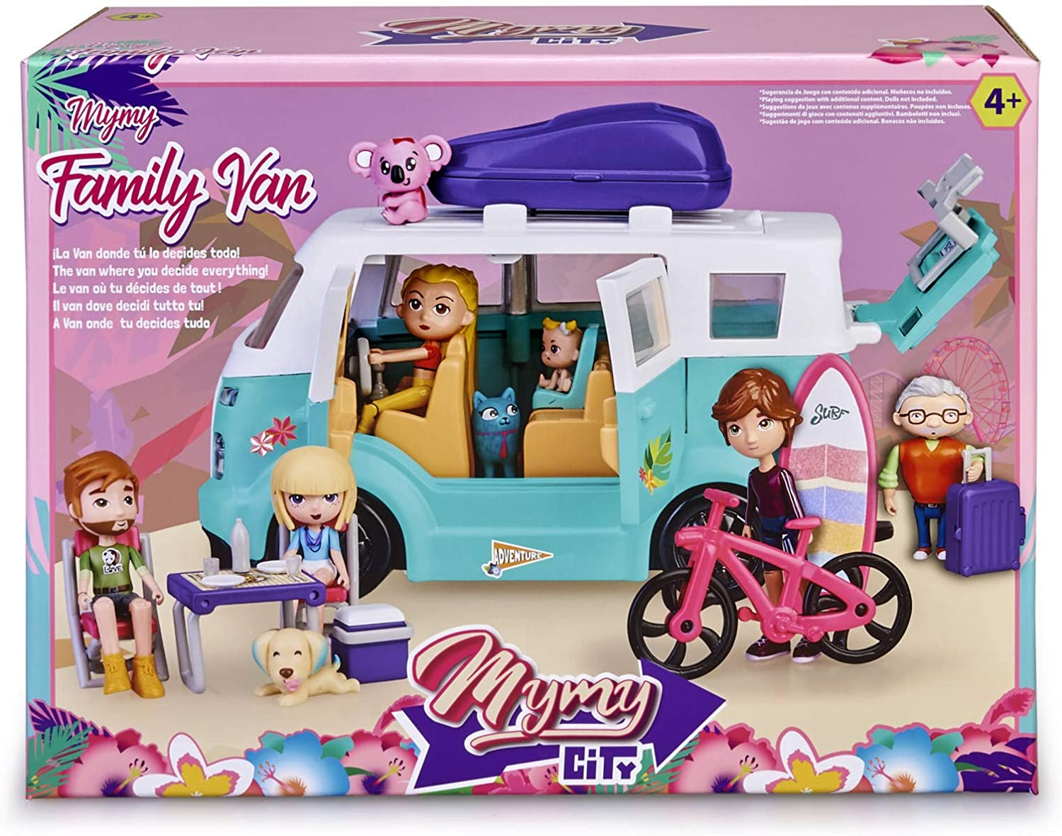 MYMY CITY FAMILY VAN 15598 V23920