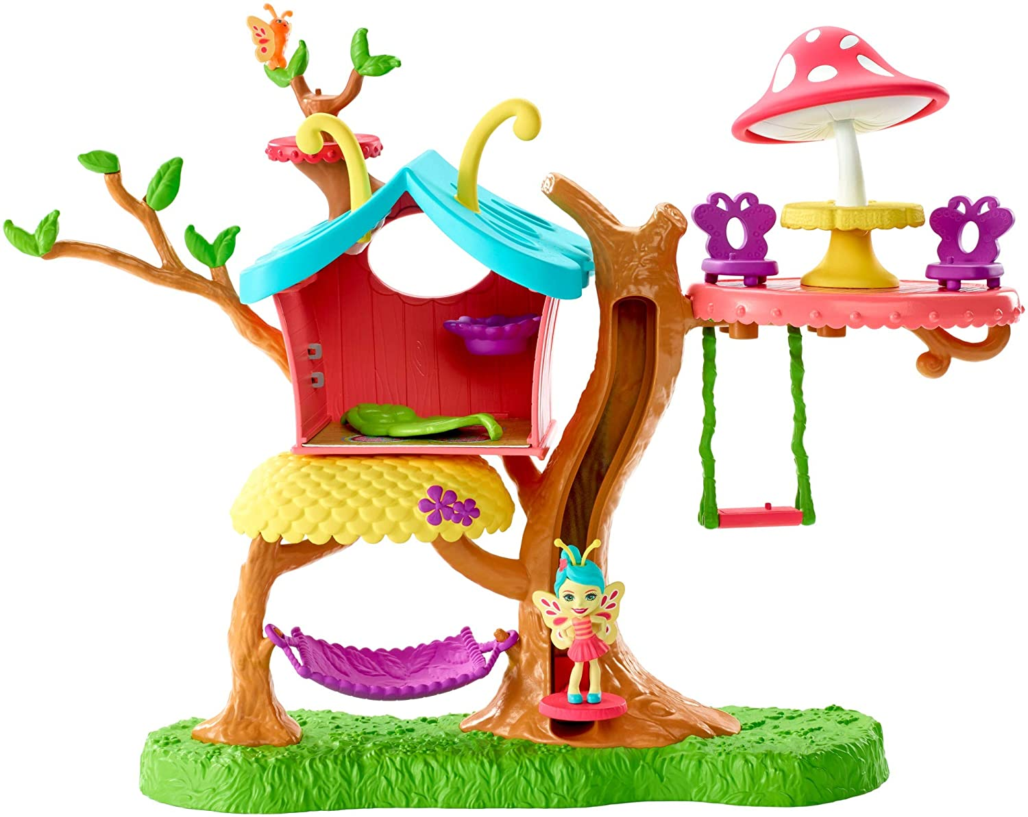 ENCHANTIMALS CASITA DEL ARBOL GBX08