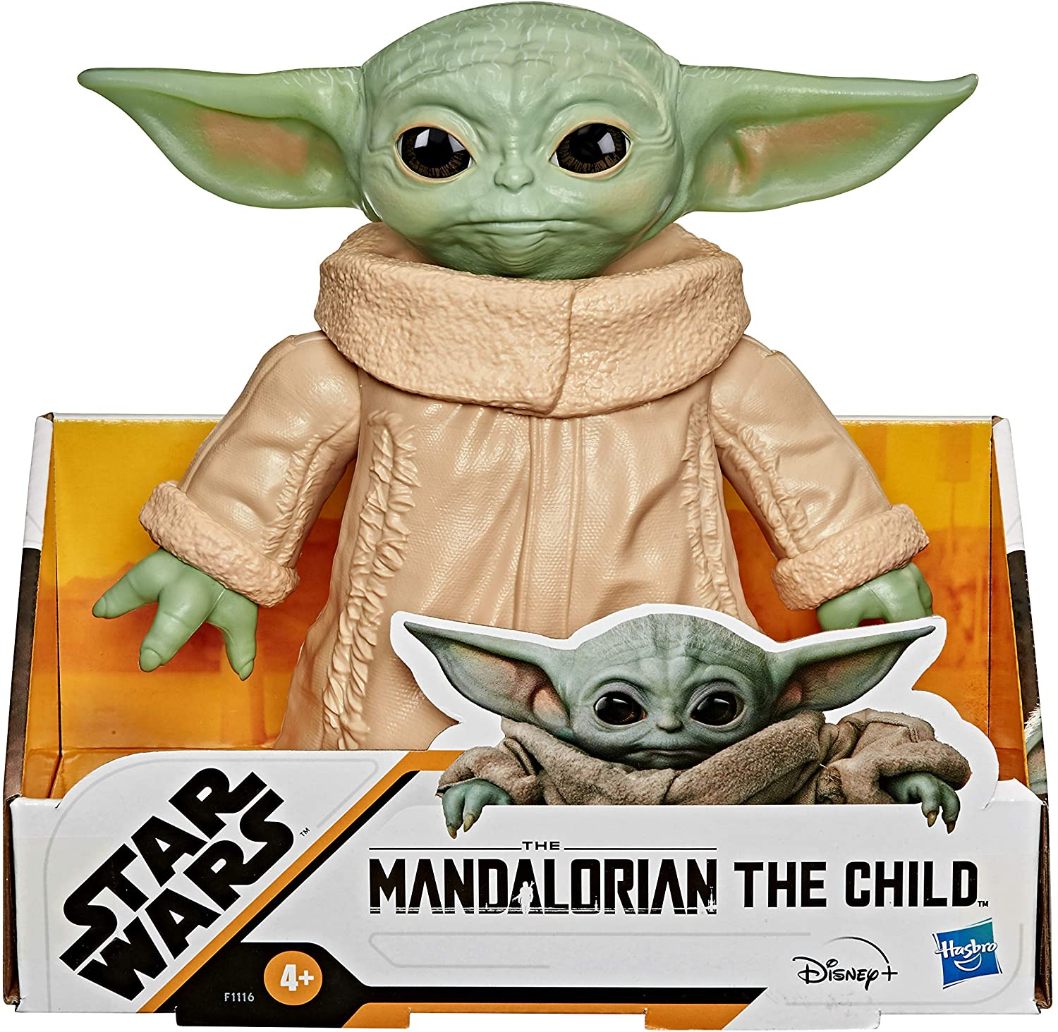 FIGURA STAR WARS THE MANDALORIAN THE CHILD 16CM F1116
