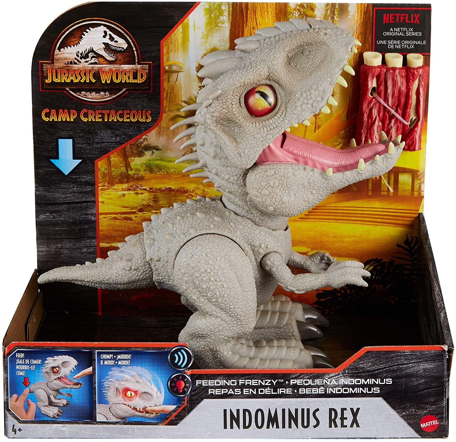 JW FEEDING FRENZY INDOMINUS REX GMT90 - N67320