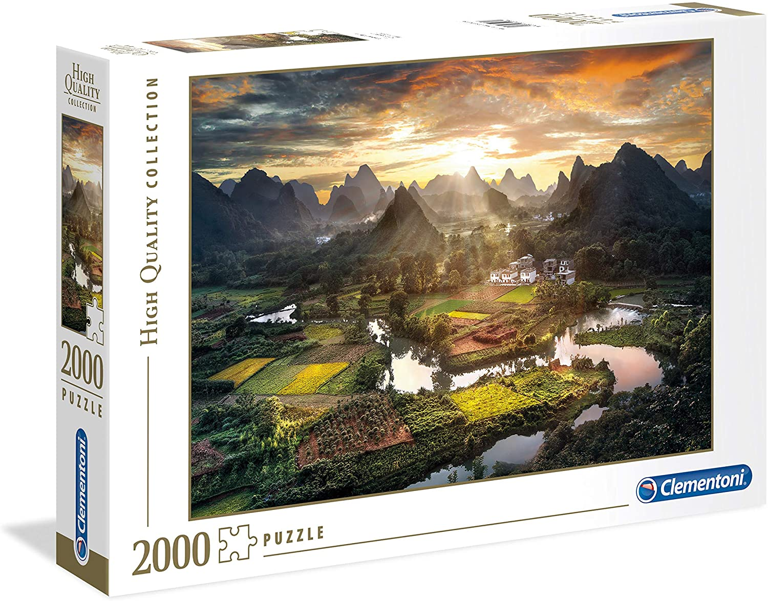 PUZZLE 2000 HQC VIEW OF CHINA 32564