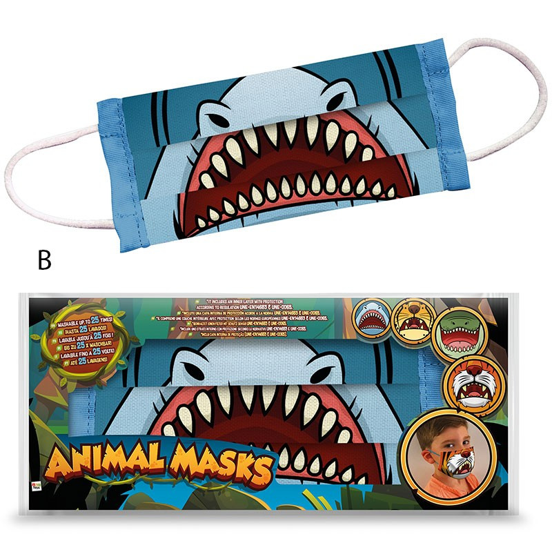 MASCARILLA ANIMALES SURT.82632