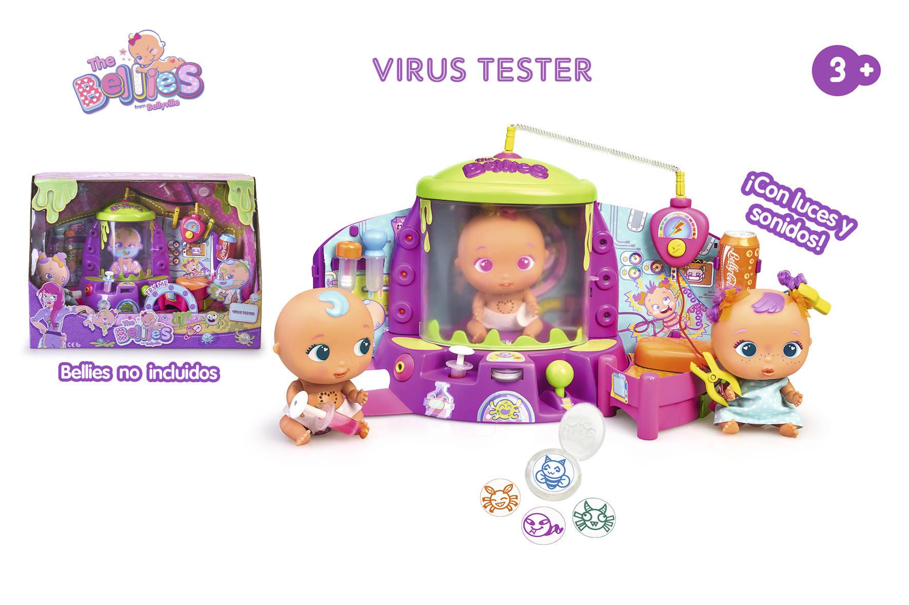 VIRUS TESTER BELLIES 15775 - N40820
