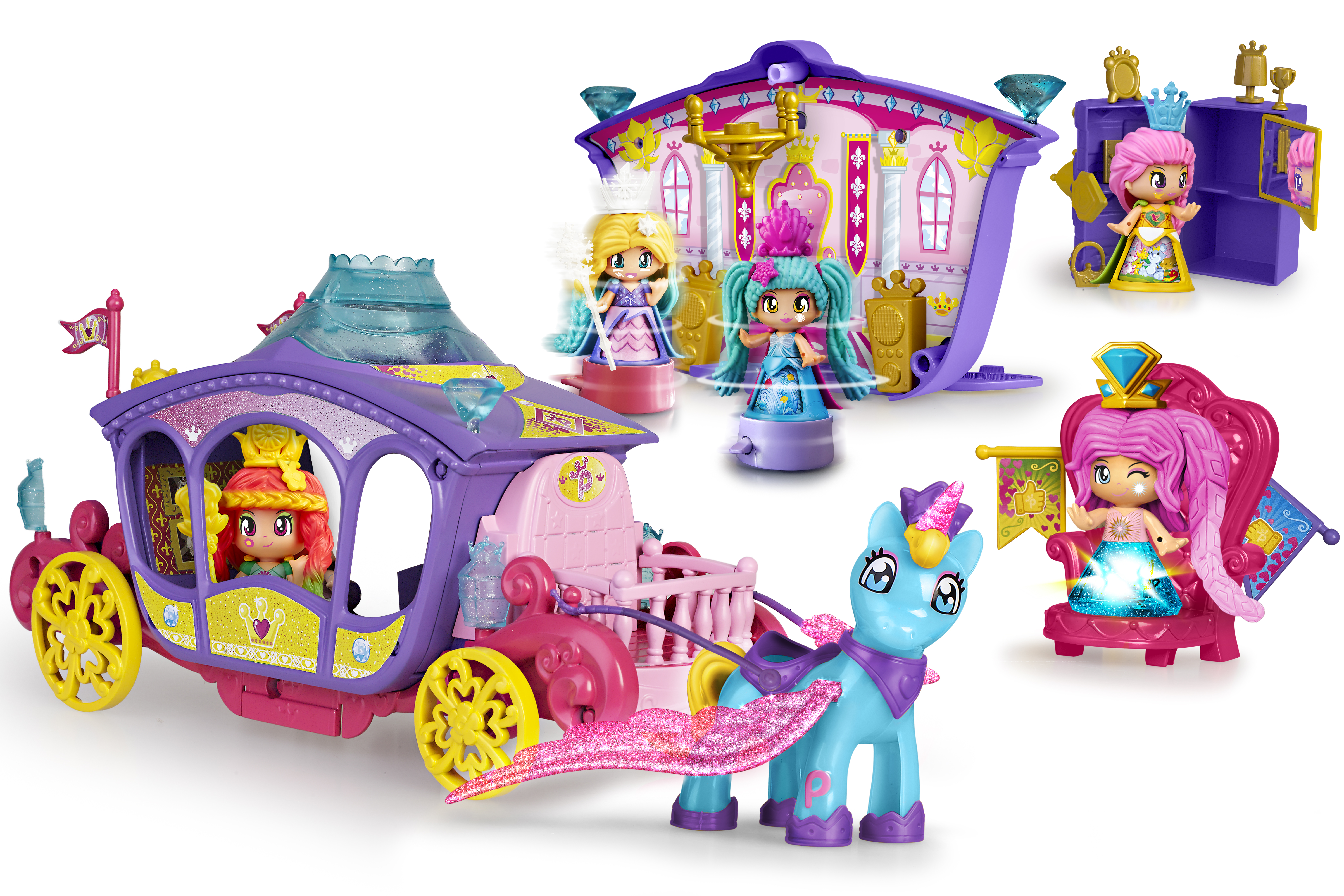 PINYPON QUEENS CARRIAGE 15805