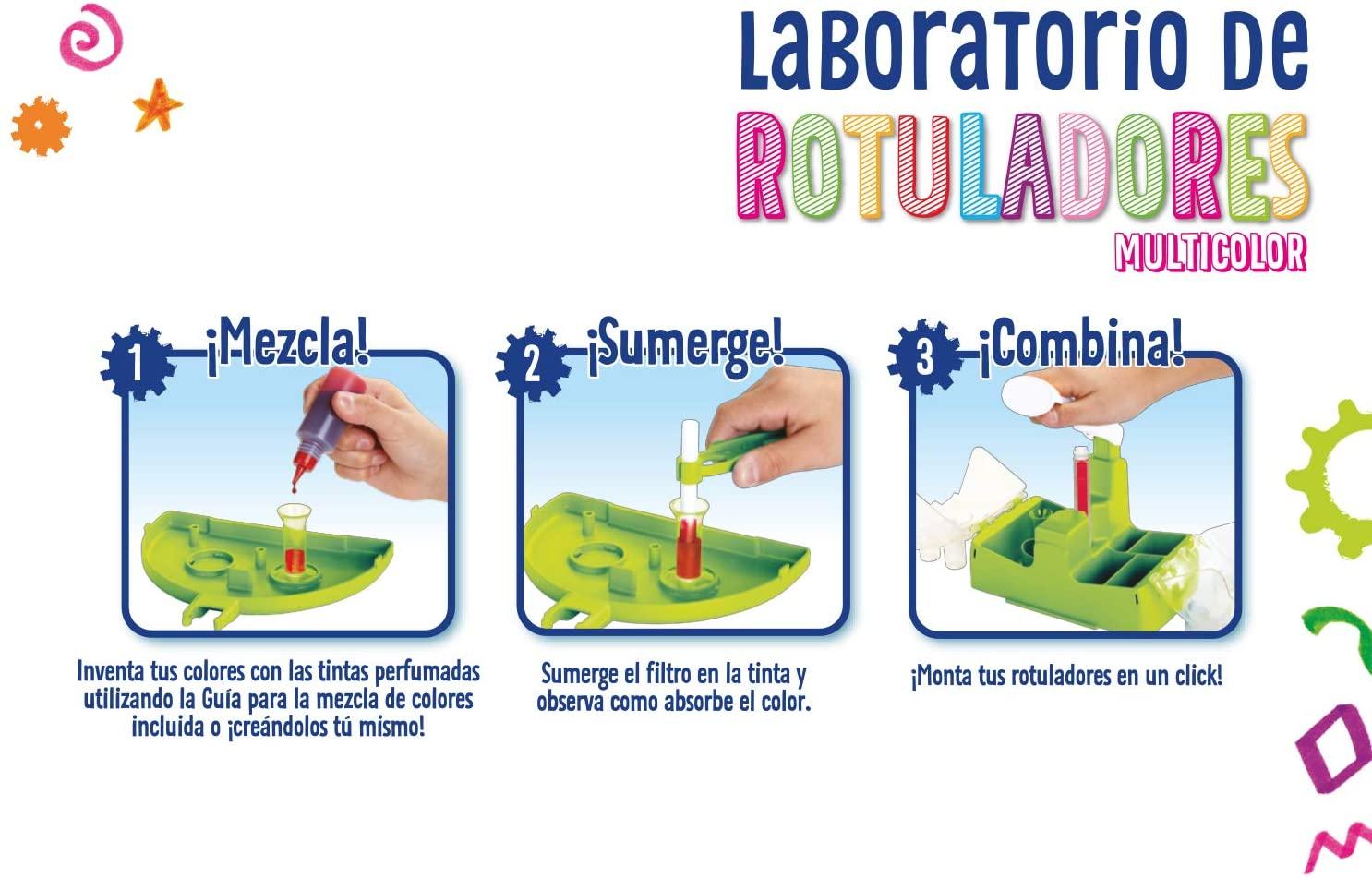 LABORATORIO DE ROTULADORES MULTICOLOR 25-5961