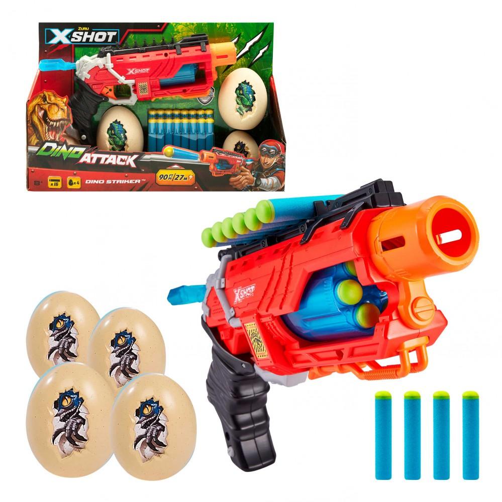 X-SHOT DINO ATTACK PISTOLA DINO. 46559