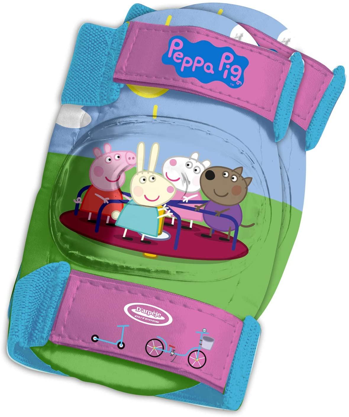 PEPPA PIG PROTECCIONES, CASCO Y MOCHILA OPEP004 - N27120