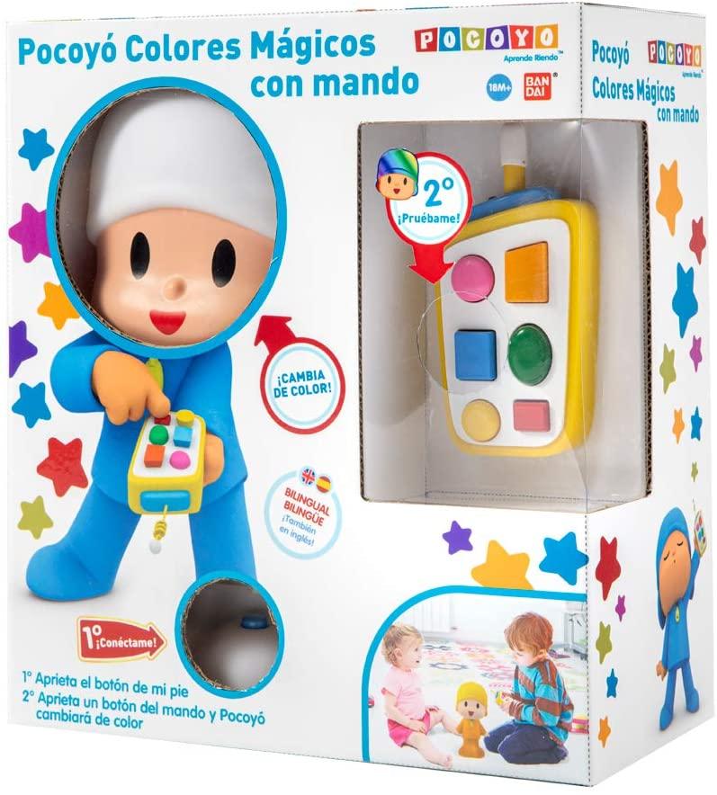 POCOYO COLORES MAGICOS CON MANDO 77500
