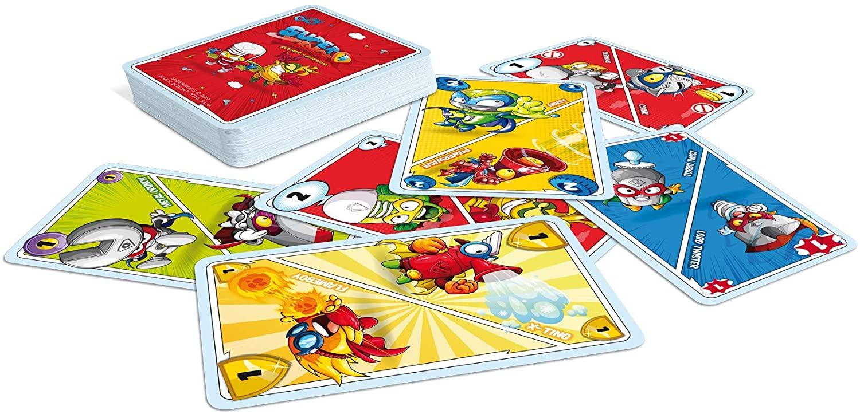 JUEGO DE CARTAS 4EN1 SUPERZINGS 00684