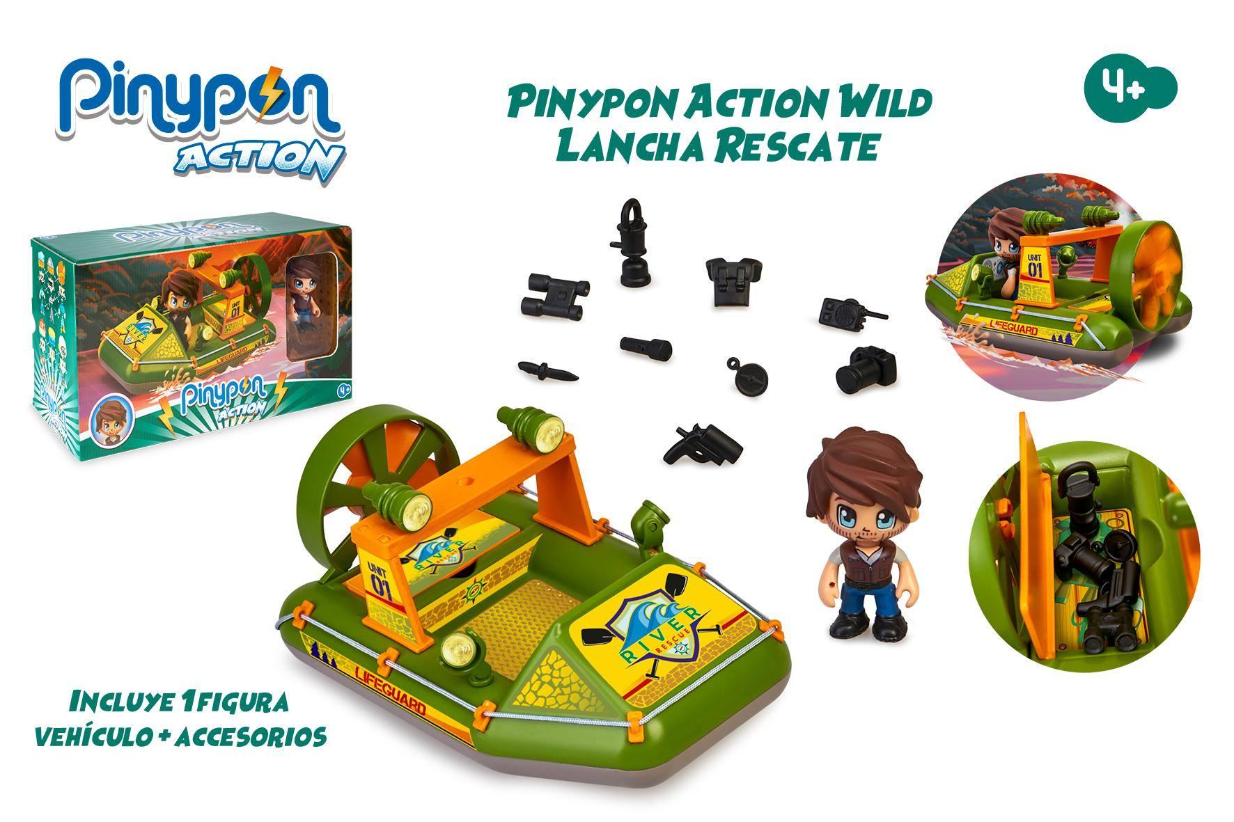 PINYPON ACCION LANCHA RESCATE 16340