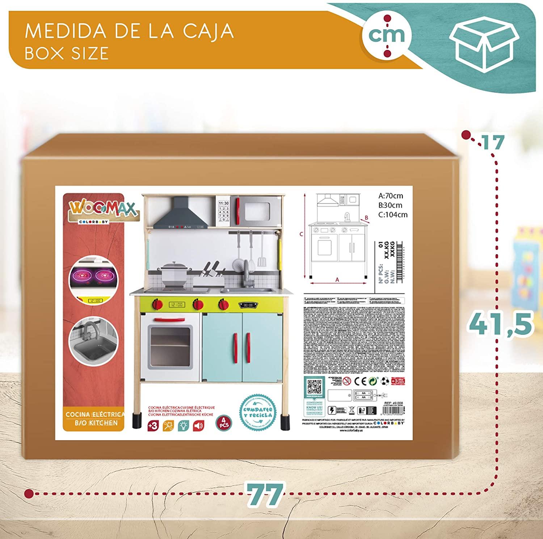 COCINA MADERA ELECTRONICA 49008