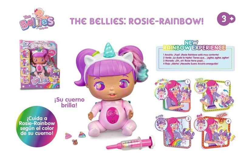 BELLIES ROSIE RAINBOW! 16632