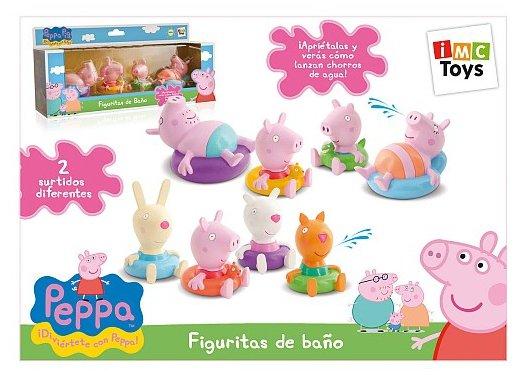 FIGURITAS BAÑO PEPPA PIG 360037 - N64619