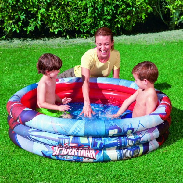 PISCINA SPIDERMAN 122X30 586-98018