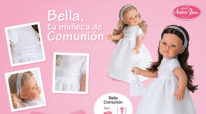 BELLA COMUNION MORENA-BEIGE 2800