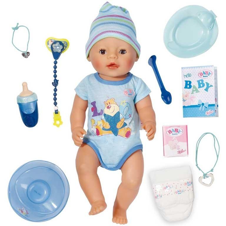 BABY BORN INTERACITVO NIÑO 819203 - N88019