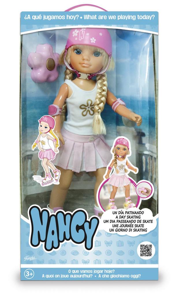 NANCY UN DIA PATINANDO 13722 - N36020