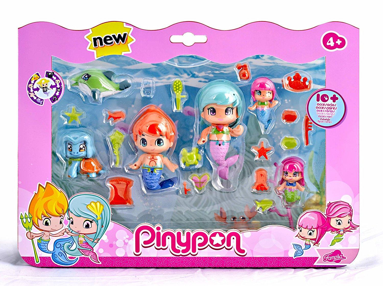 PINYPON SIRENIAS PACK GRANDE 6 FIGURAS 13480