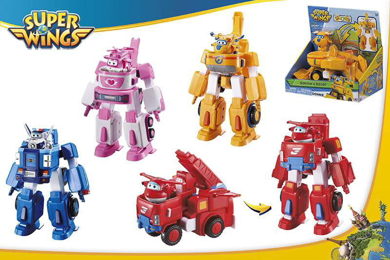 VEHICULO TRASFORMABLE SUPERWINGS 43973