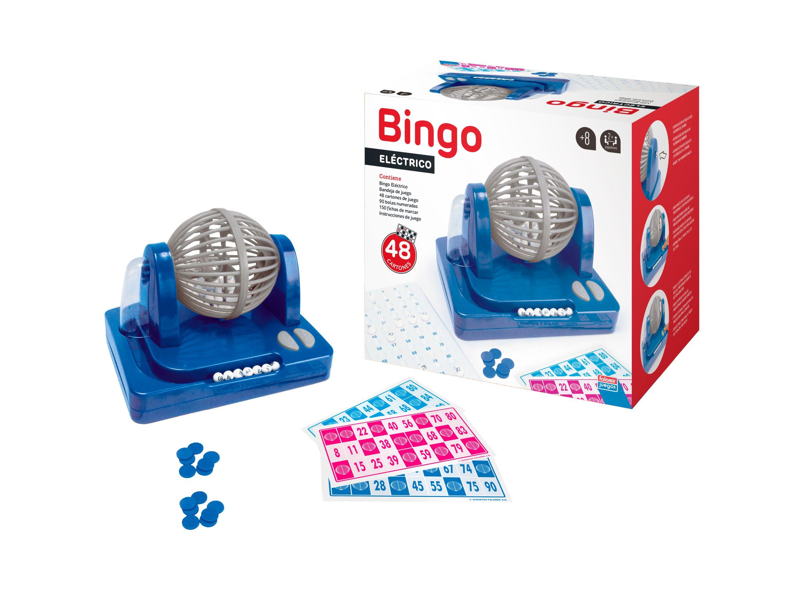 BINGO ELECTRICO 90 BOLAS BOM 27922 - N46618