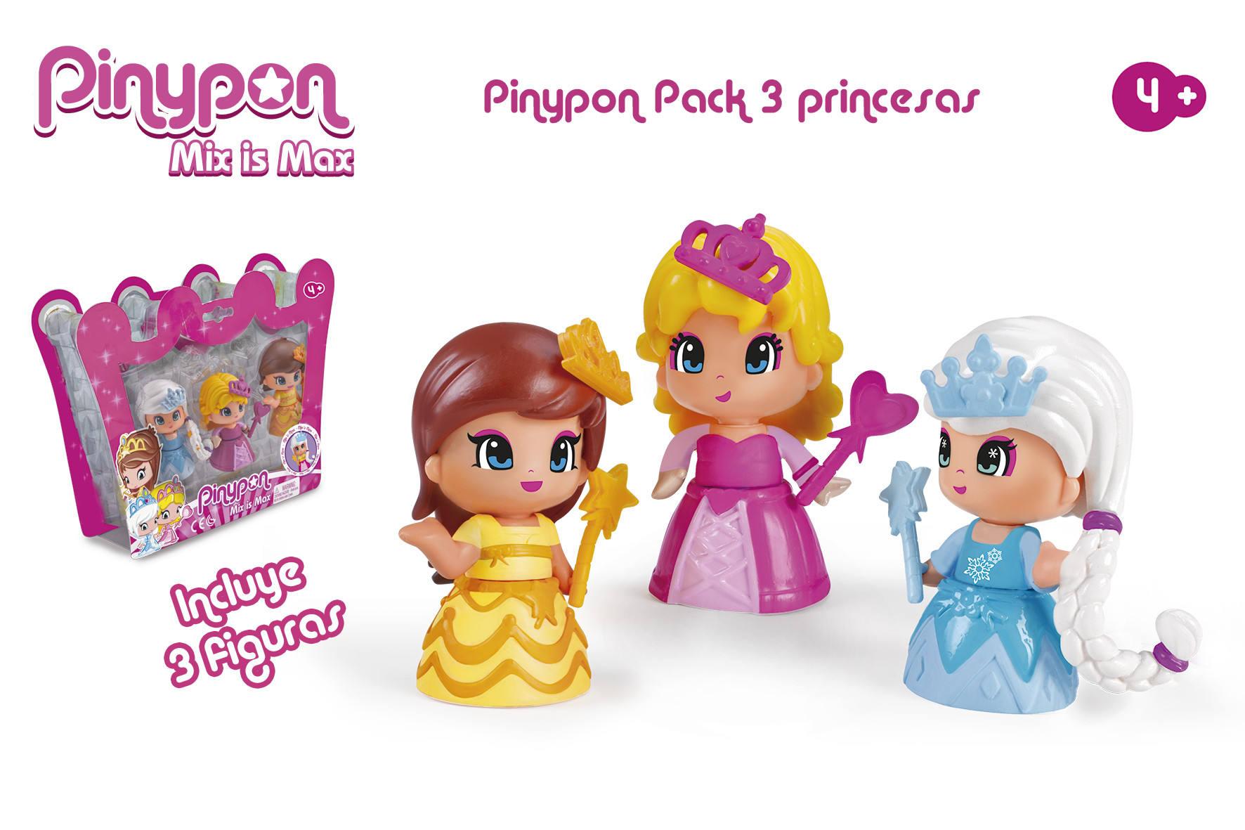 PINYPON PACK 3 PRINCESAS 14094