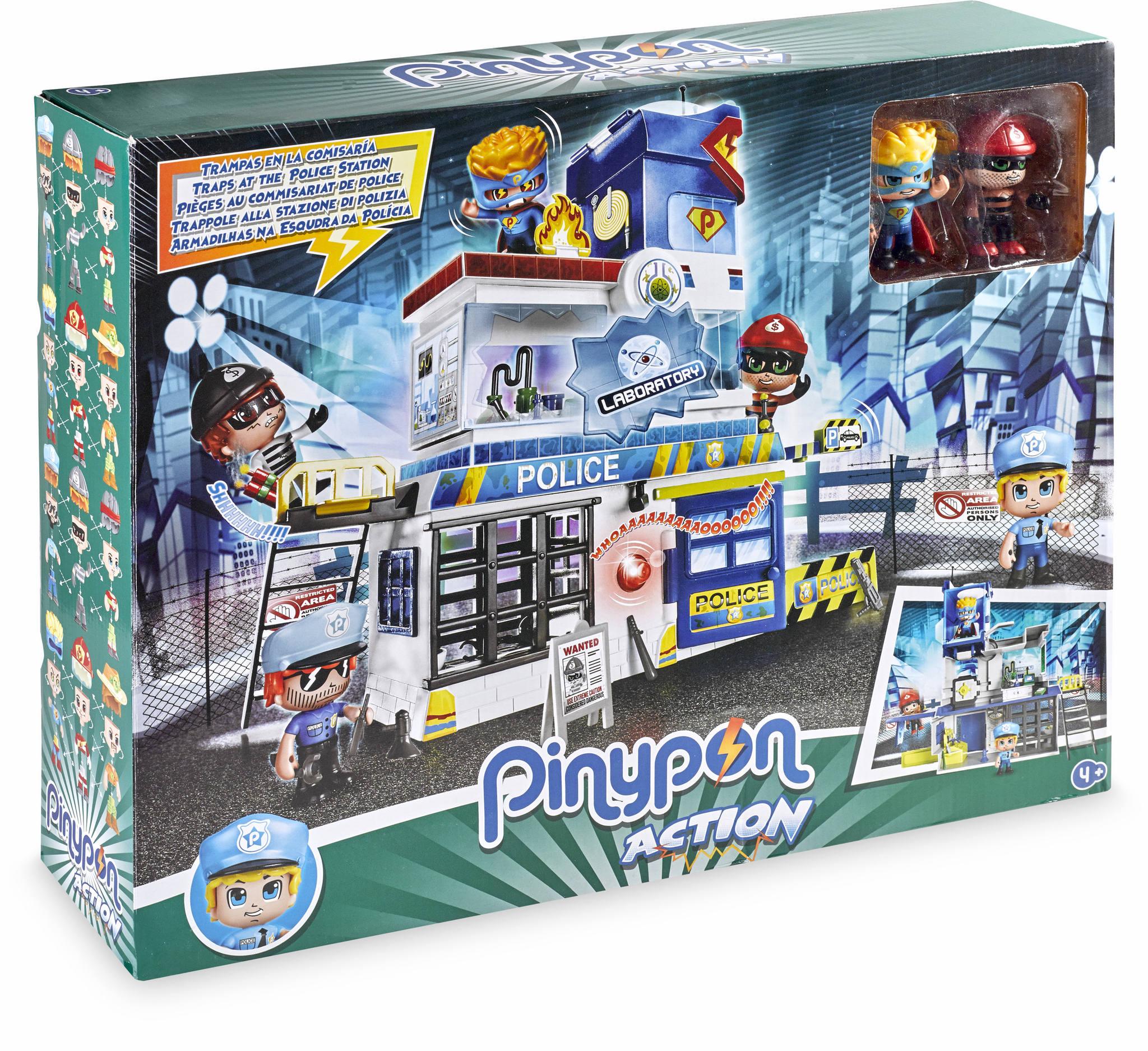 PINYPON ACTION TRAMPAS EN LA COMISARIA 14493 - N10019