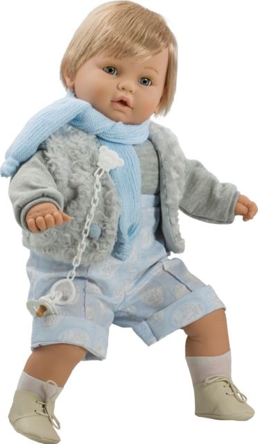BABY DULZON LLORON CHALECO GRIS 8042 - N3719