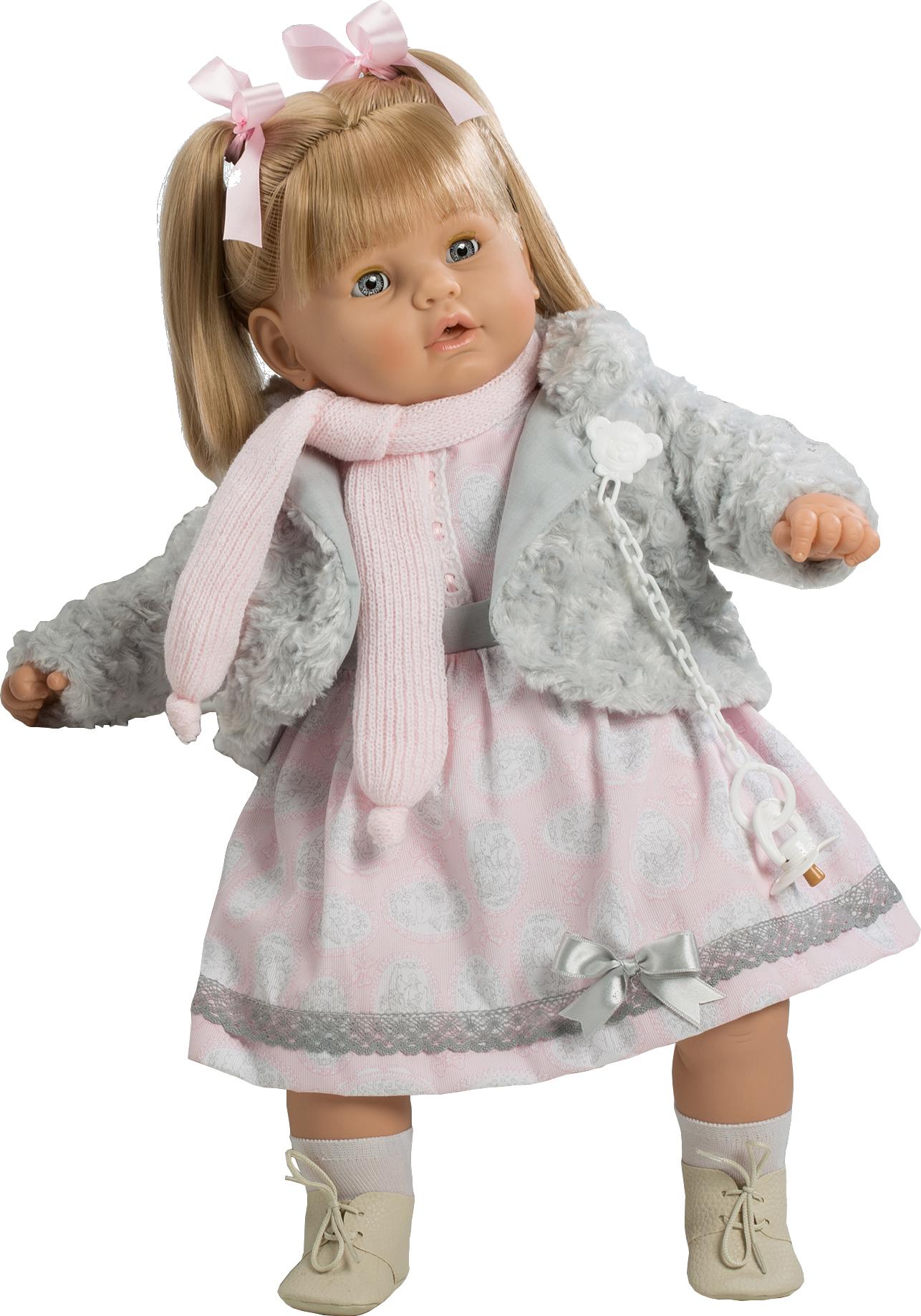 BABY DULZONA LLORONA CHALECO GRIS 8043 - N3819