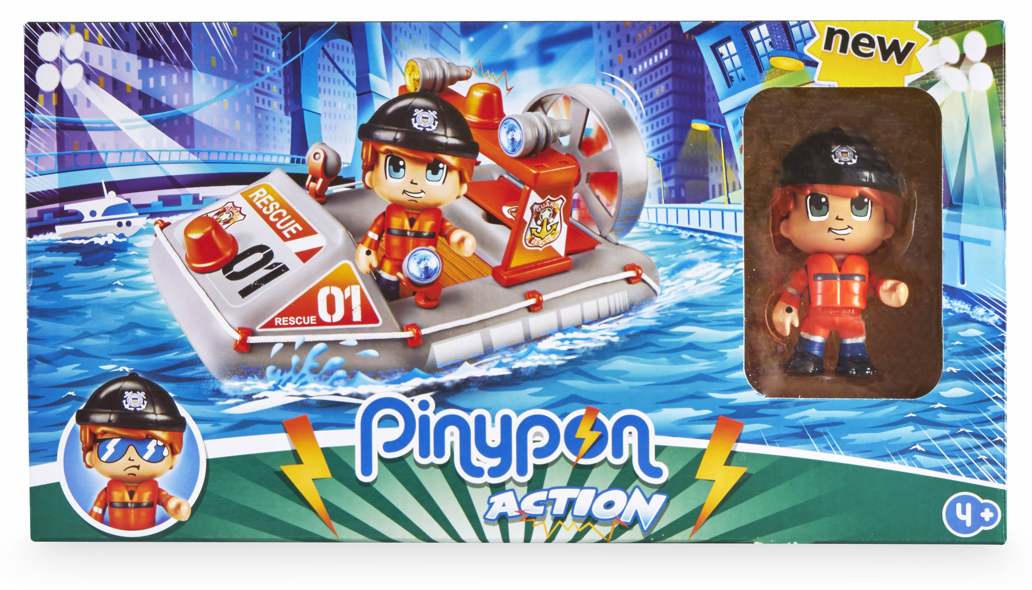 PINYPON ACTION LANCHA DE RESCATE 700015050 - V19519