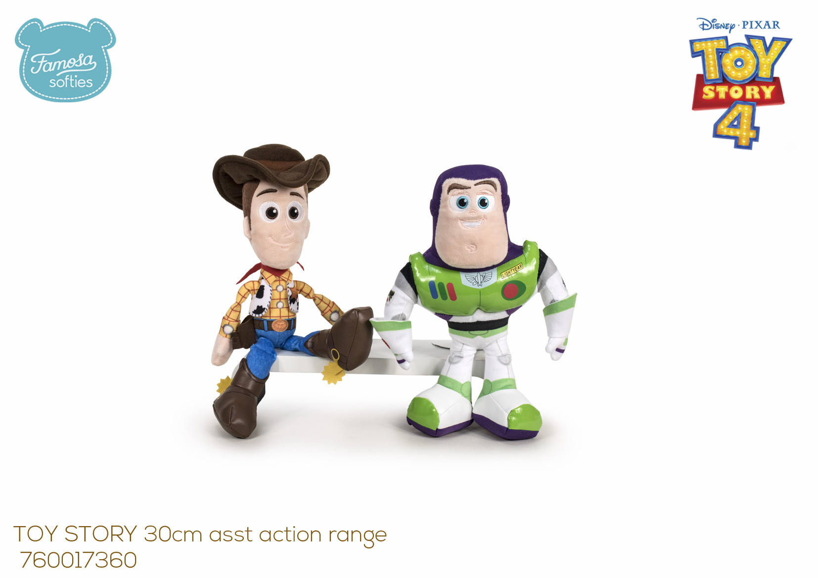 TOY STORY 30CM ASST. ACTION RANGE CDU 17360