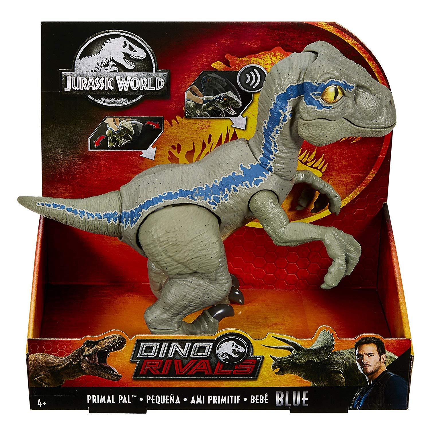 JURASSIC WORLD PRIMAL PAL BLUE GFD40 - V22620