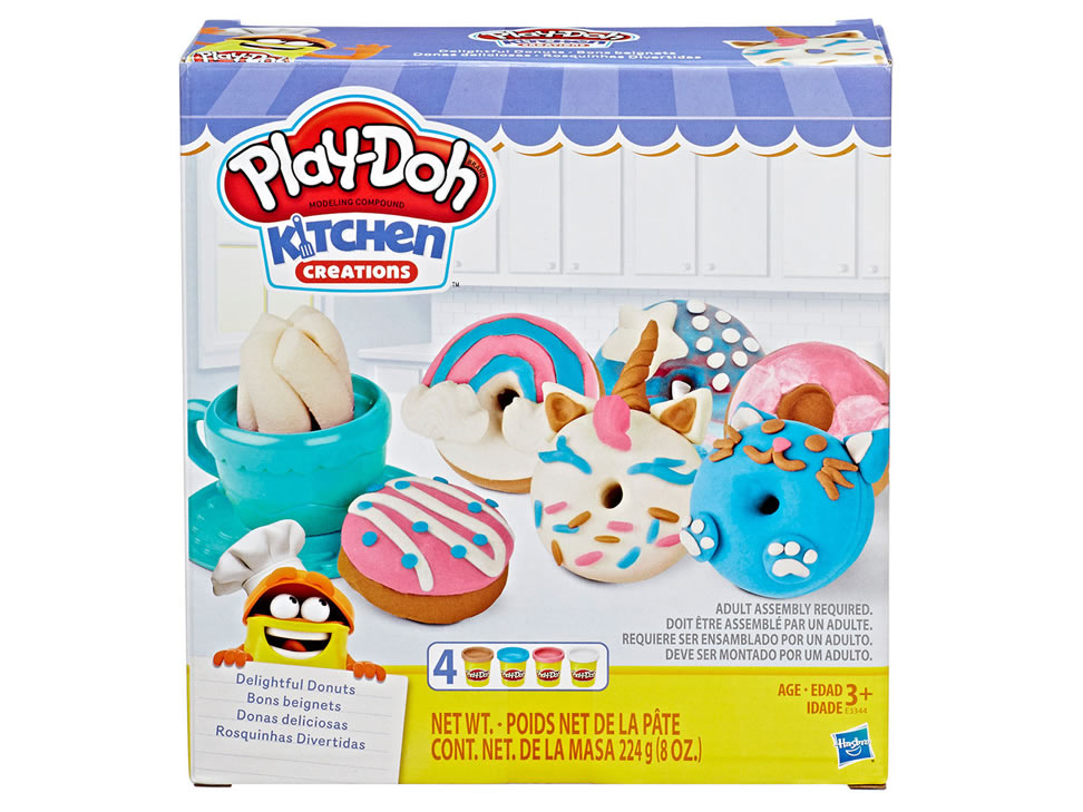 PLAY-DOH DONUTS DELICIOSOS E3344