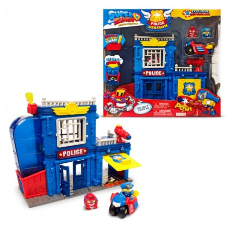 SUPERZINGS S PLAYSET 1X2 POLICE STATION - N64919