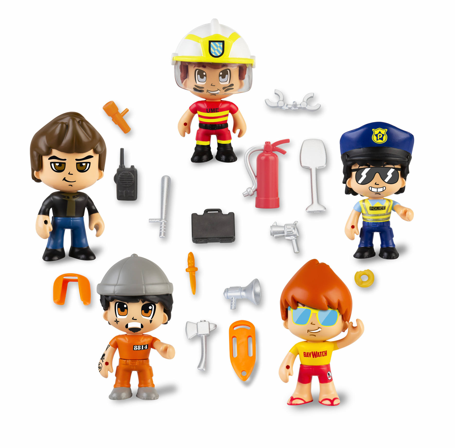 PINYPON ACTION PACK 5 FIGURAS SERIE 2 700015265