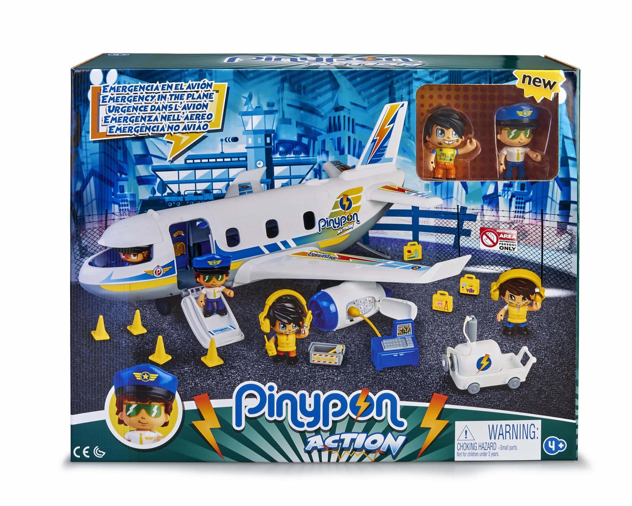 PINYPON ACTION EMERGENCIA EN EL AVION 700015149 - N9919