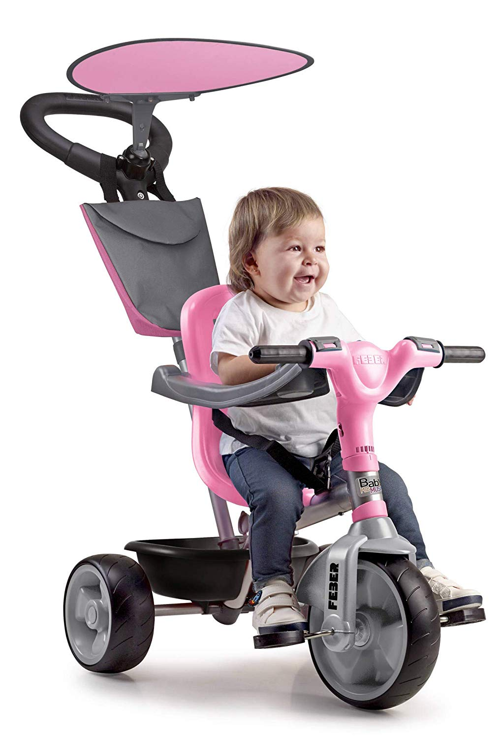 TRICICLO BABY PLUS MUSIC/PINK 12132 - N14319