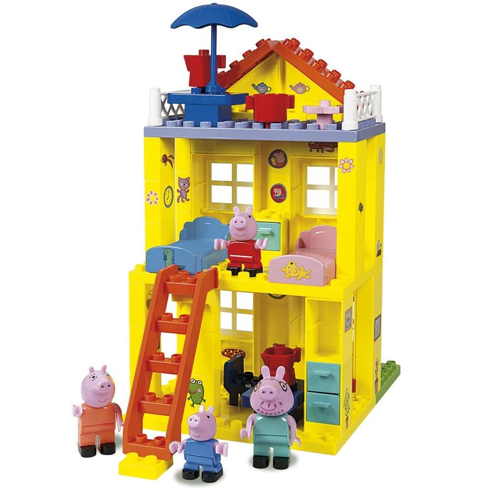 PEPPA PIG CASA BLOQUES CONSTRUCCION 6063439 - N55219
